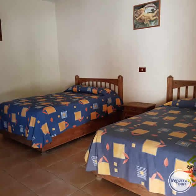 Hospedaje en Hotel Colonial Río Pescados Jalcomulco Veracruz