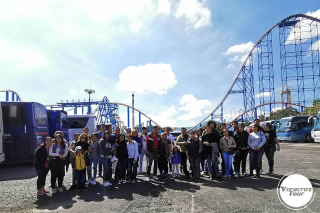 Excursión a Six Flags Saliendo De Veracruz, Cardel y Xalapa